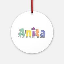 Anita Spring14 Round Ornament