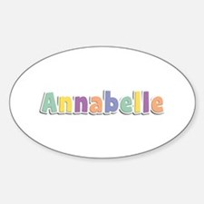 Annabelle Spring14 Oval Decal
