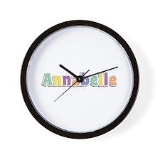 Annabelle Spring14 Wall Clock