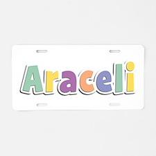 Araceli Spring14 Aluminum License Plate