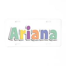 Ariana Spring14 Aluminum License Plate
