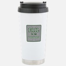 Fail To The Victors Stainless Steel Travel Mug