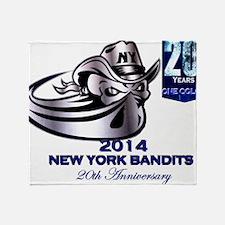 Bandits 20 Years Throw Blanket