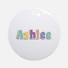 Ashlee Spring14 Round Ornament