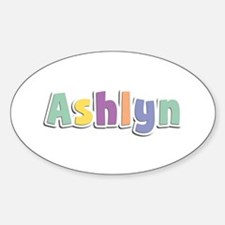 Ashlyn Spring14 Oval Decal