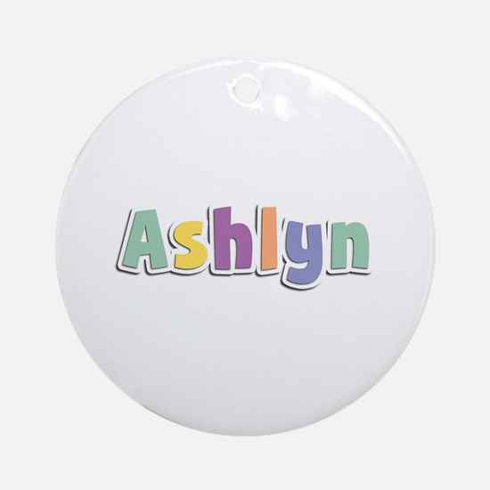 Ashlyn Spring14 Round Ornament
