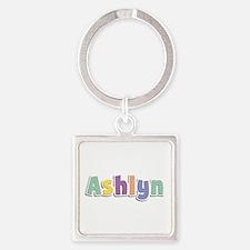 Ashlyn Spring14 Square Keychain
