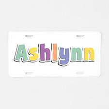 Ashlynn Spring14 Aluminum License Plate