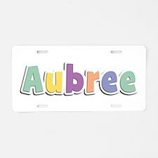 Aubree Spring14 Aluminum License Plate