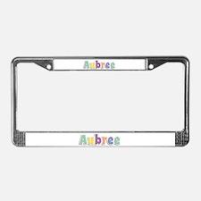 Aubree Spring14 License Plate Frame