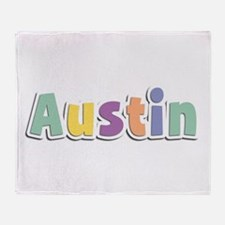 Austin Spring14 Throw Blanket