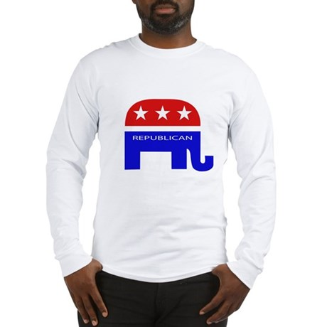 GOP Elephant Long Sleeve T-Shirt