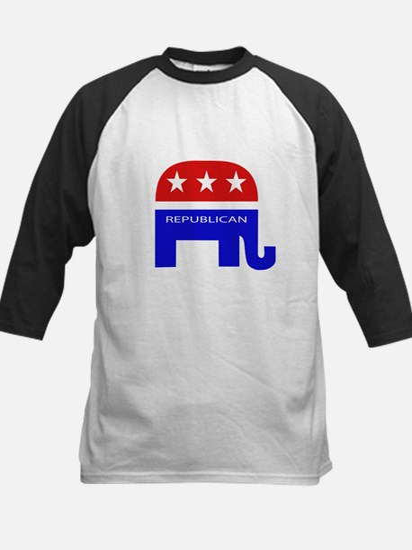 GOP Elephant Kids Baseball Jersey