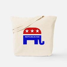 GOP Elephant Tote Bag