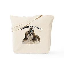 I shit you not Shih Tzu Pun Tote Bag