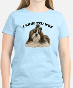 I shit you not Shih Tzu Pun T-Shirt
