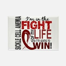 Sickle Cell Anemia FightOfMyLife1 Rectangle Magnet