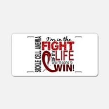 Sickle Cell Anemia FightOfM Aluminum License Plate