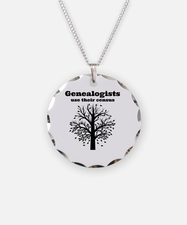 Genealogists use their censu Necklace