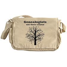Genealogists use their census Messenger Bag