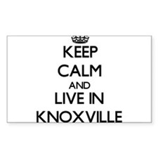 Keep Calm and live in Knoxville Decal