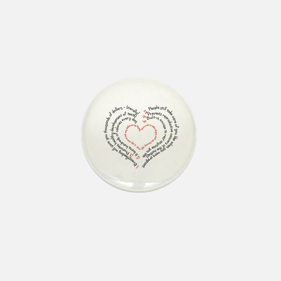 Breastfeeding: The Greatest Gift Mini Button