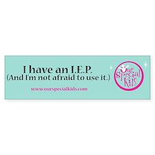 IEP Bumper Bumper Sticker