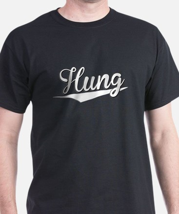 Hung, Retro, T-Shirt