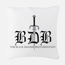 Bdb Dagger Woven Throw Pillow