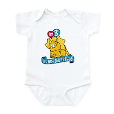 3rd Birthday Dinosaur Infant Bodysuit
