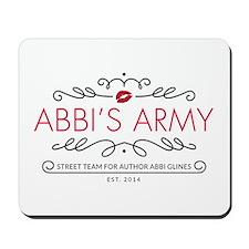 Abbi's Army Logo Mousepad