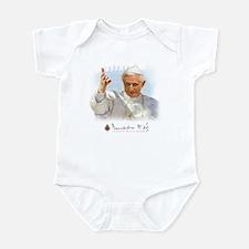 Pope Benedict Drawing Infant Bodysuit