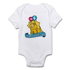 4th Birthday Dinosaur Infant Bodysuit