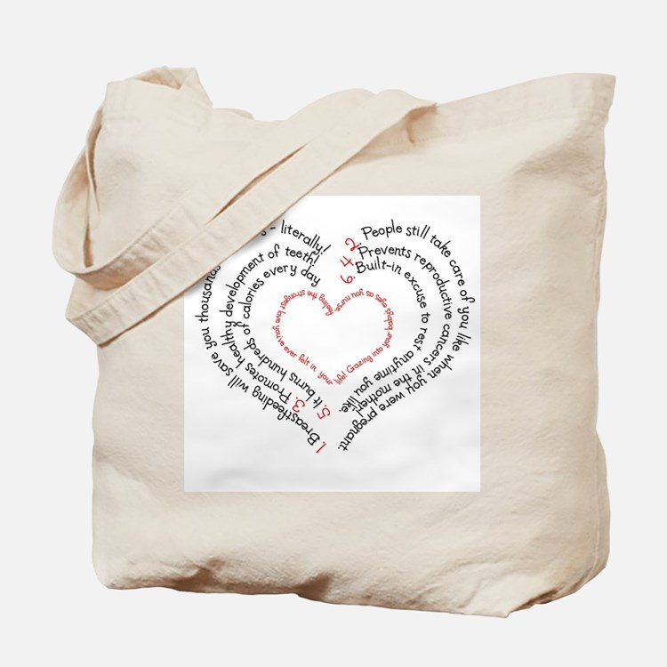 Breastfeeding: The Greatest Gift Tote Bag