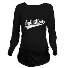 Induction, Retro, Long Sleeve Maternity T-Shirt