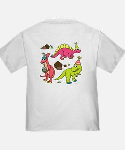 5th Birthday Dinosaur T