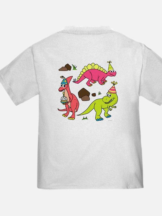 5th Birthday Dinosaur T