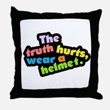 Wear a Helm Throw Pillow