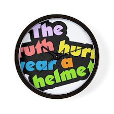 Wear a Helm Wall Clock