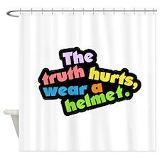 Wear a Helm Shower Curtain