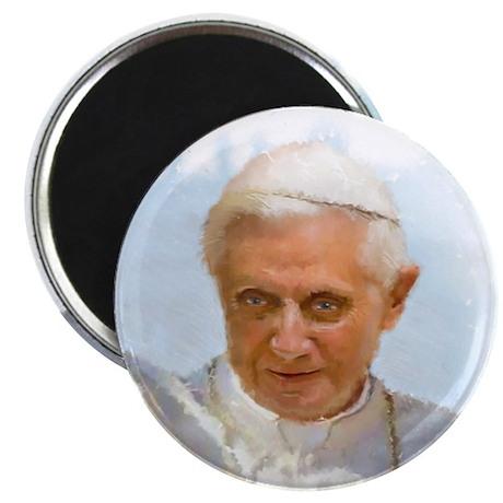 """Pope Benedict 2.25"""" Magnet (100 pack)"""