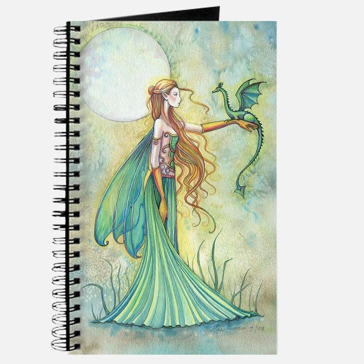 Discipline Fairy and Dragon Fantasy Art Journal