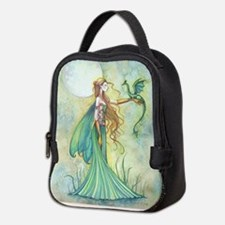 Discipline Fairy and Dragon Fantasy Art Neoprene L