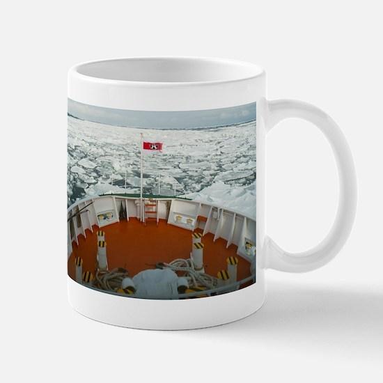 frozen ocean Mug