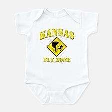 Kansas - Fly Zone! Infant Bodysuit