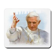 Pope Benedict Mousepad
