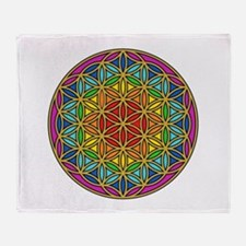 Chakra6 Throw Blanket
