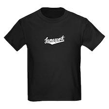 Jamesport, Retro, T-Shirt