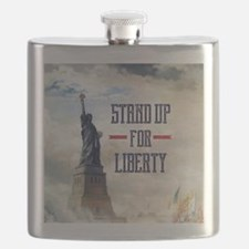 Stand Up for Liberty Flask