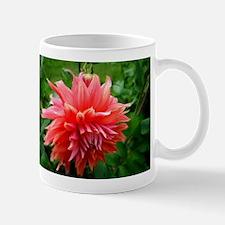Deep Pink Dahlia Mugs